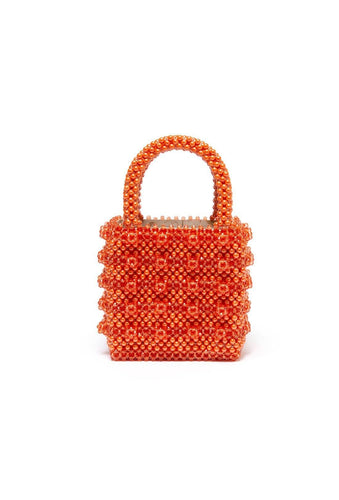 Antonia Bag - Orange, shrimps