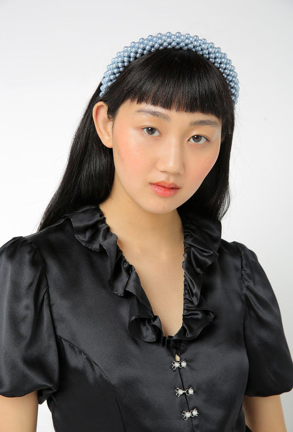 Antonia Headband - Blue