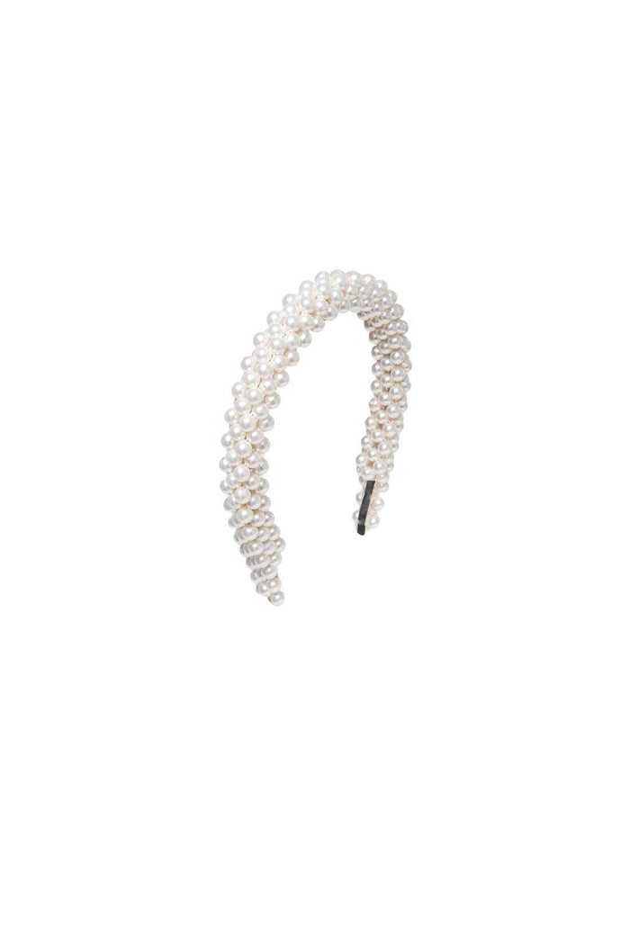 Antonia Headband - Cream, shrimps