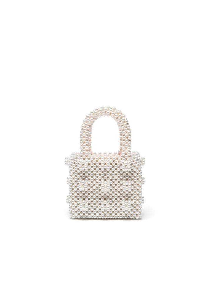 Antonia Mini Bag - Cream, shrimps