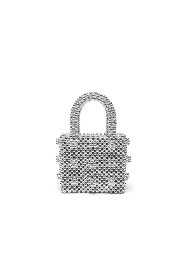 Antonia Mini Bag - Silver