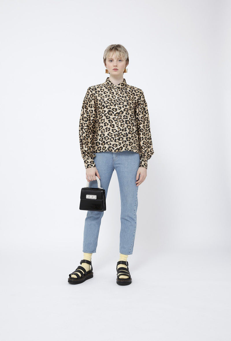 Bellatrix blouse - Leopard