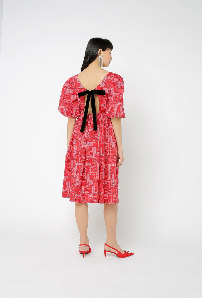Brock Dress - Red
