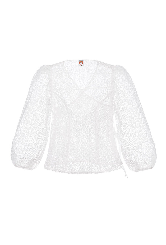Cordelia Blouse - White