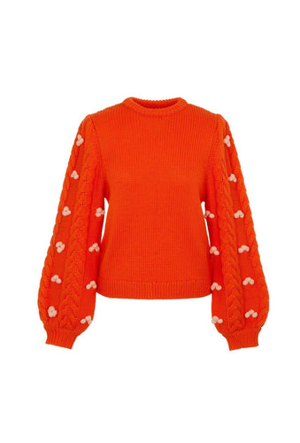 Damon jumper - Orange, shrimps