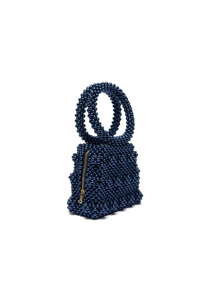 Dante bag - Navy, shrimps