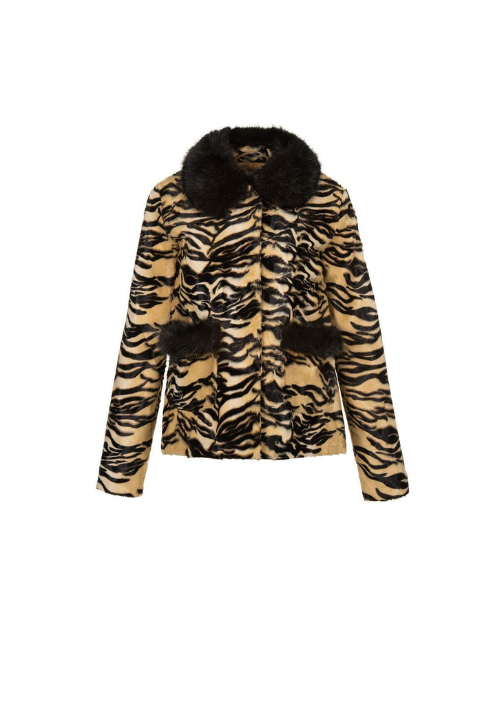 Duke Jacket - Tiger, shrimps
