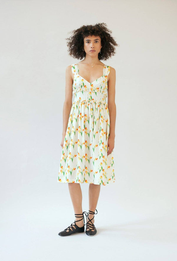 Elara dress - Daffodil