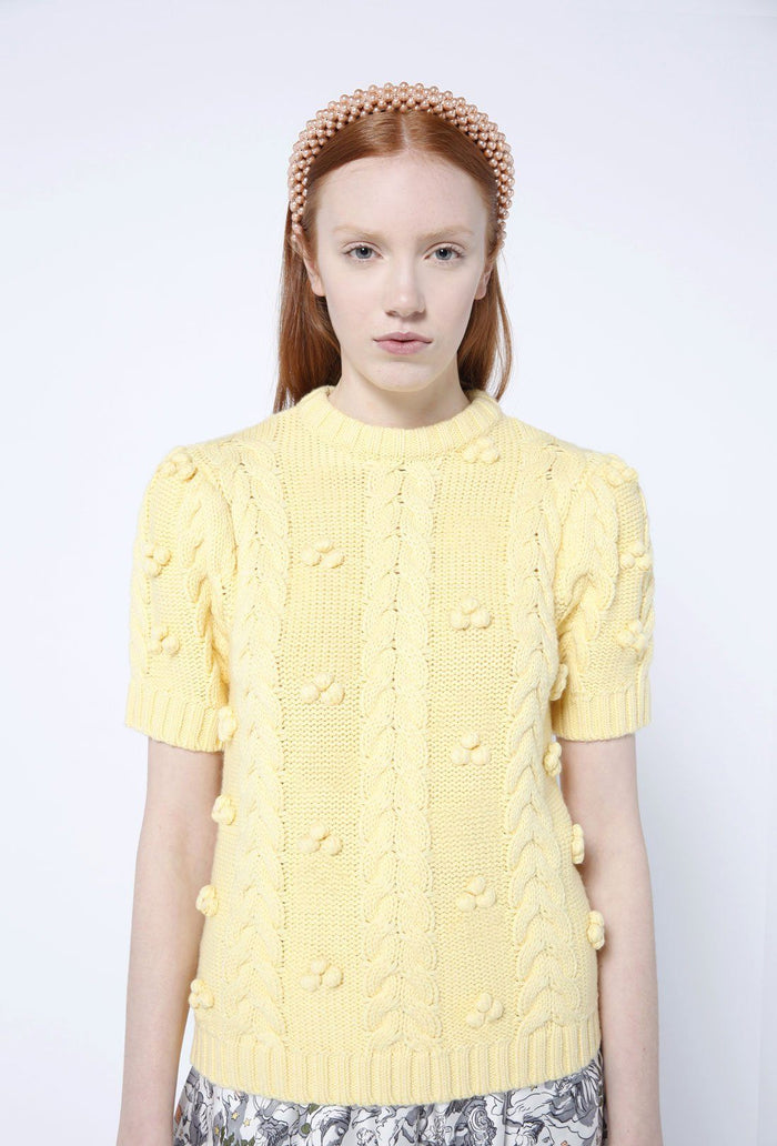Elea jumper - Banana, shrimps