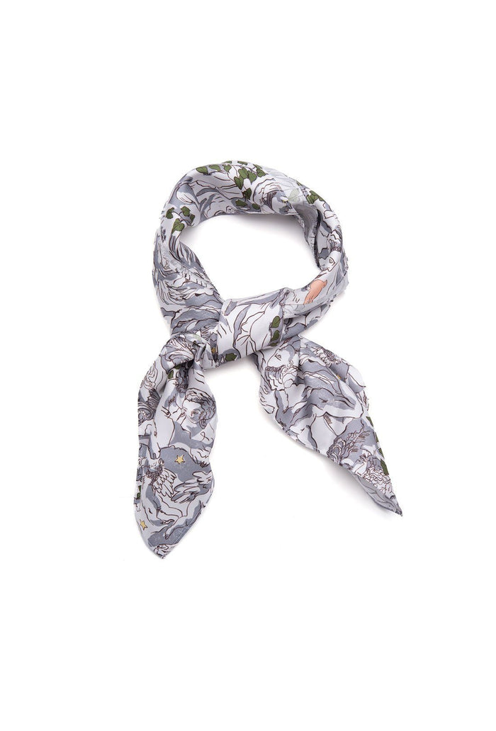 Florence Scarf - Mythological, shrimps
