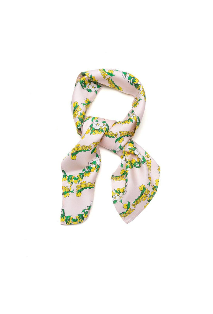 Florence Scarf - Peony, shrimps