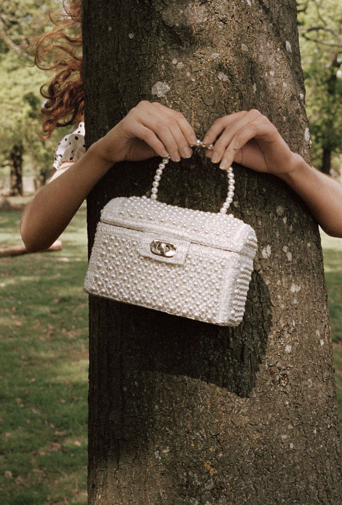 Gaia Bag - Cream, shrimps