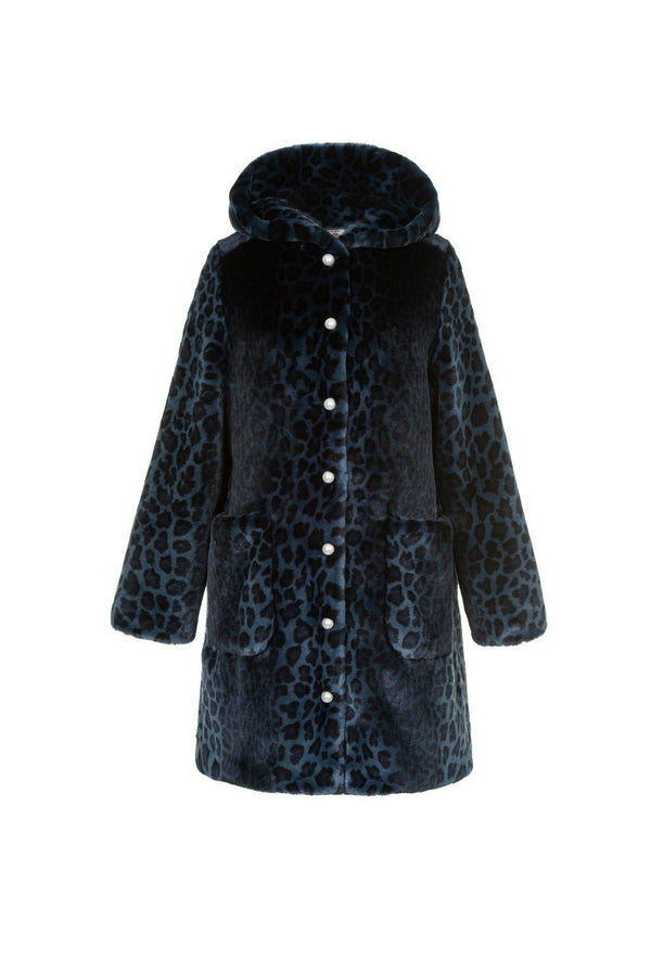 Gloria Coat - Navy