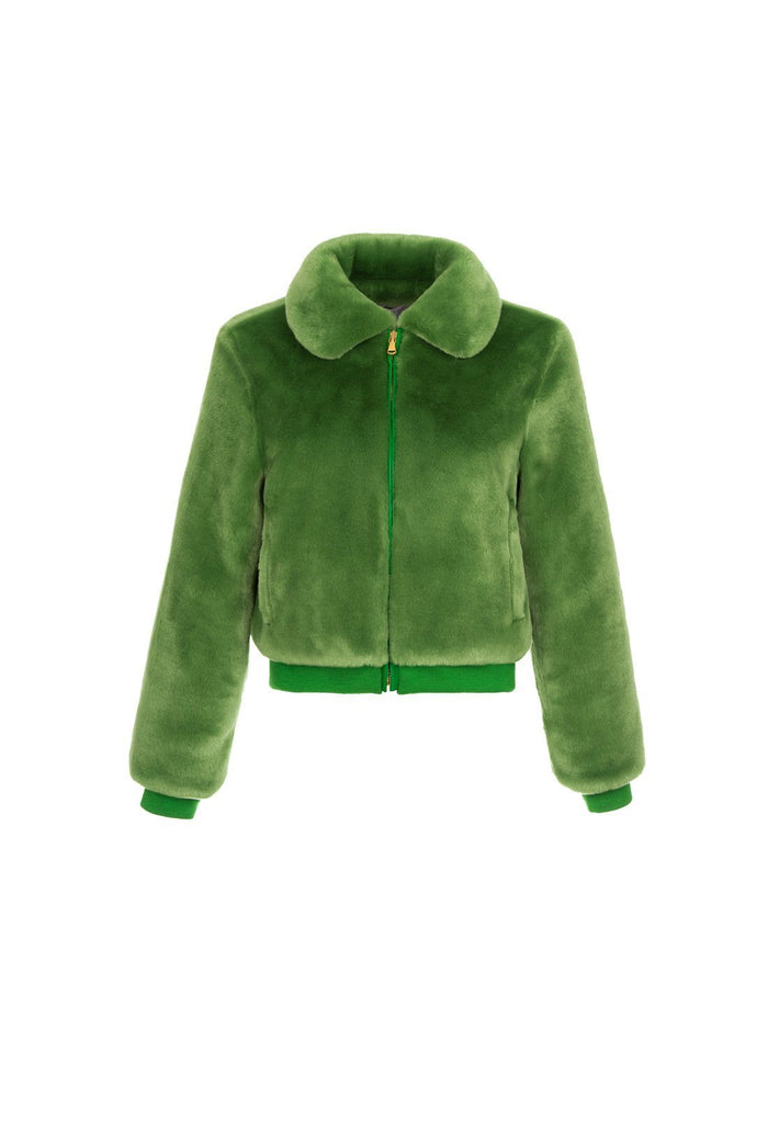 Hunter jacket - Green, shrimps