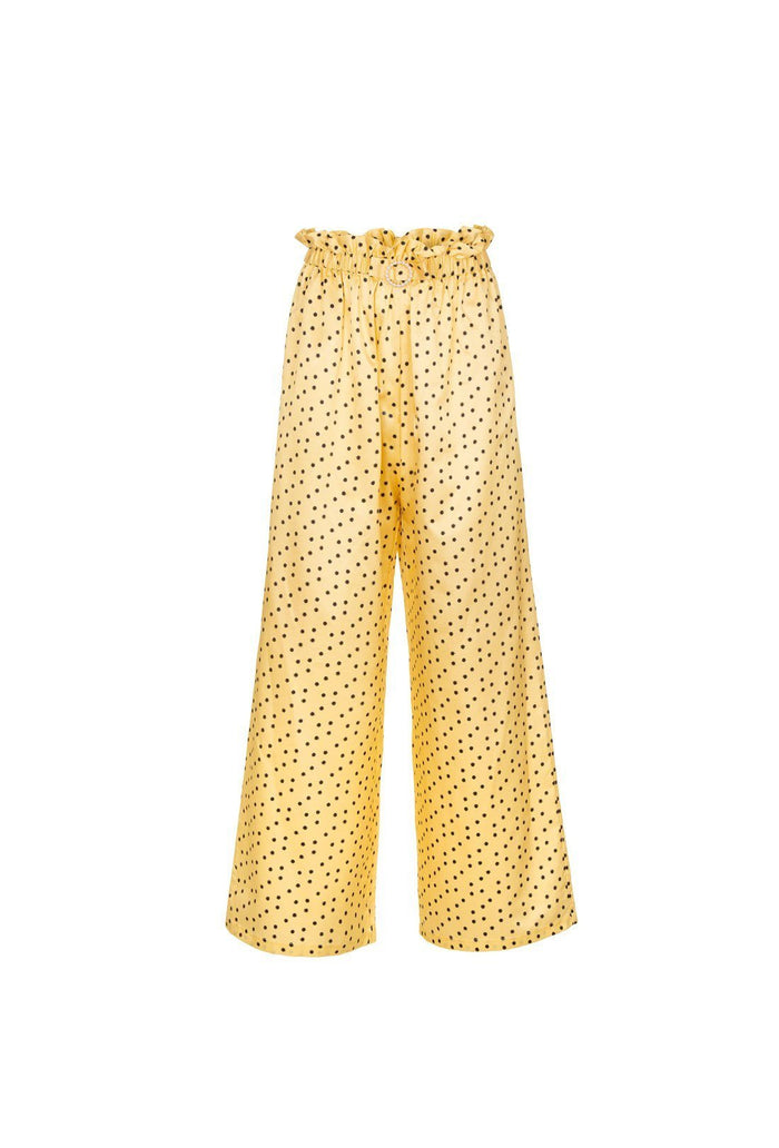 Libra trousers - Banana, shrimps