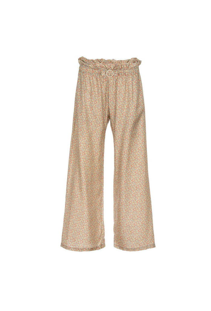 Libra trousers - Green, shrimps