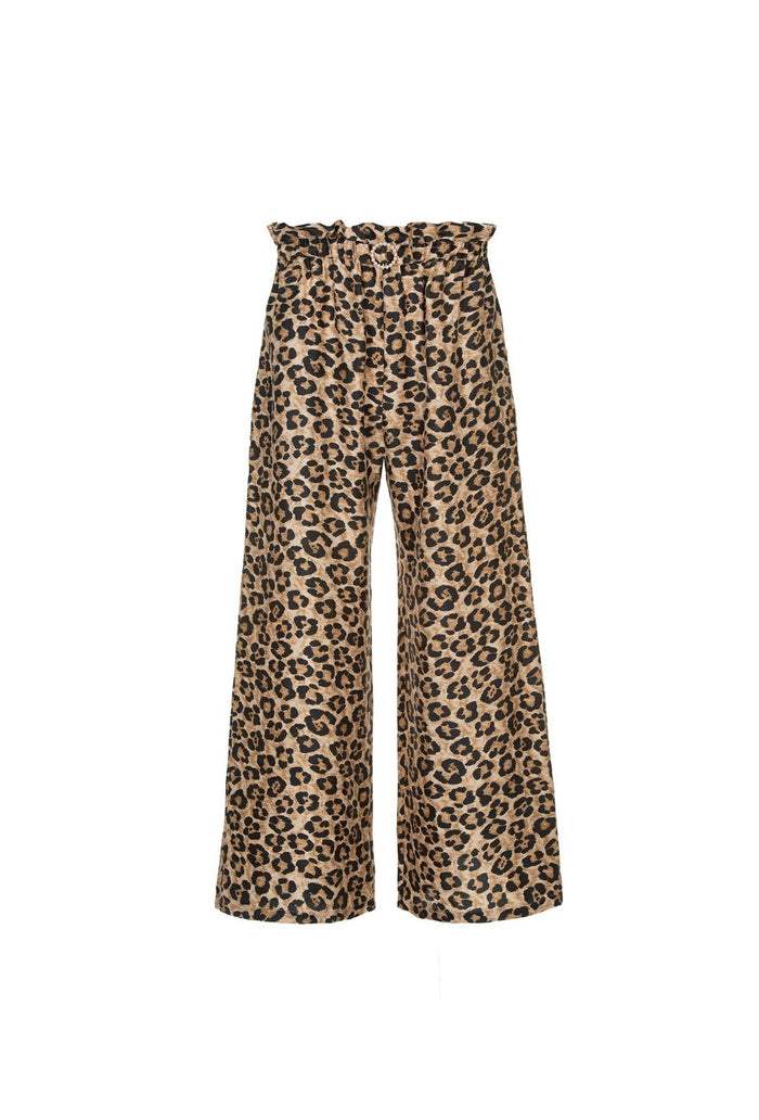 Libra trousers - Leopard, shrimps
