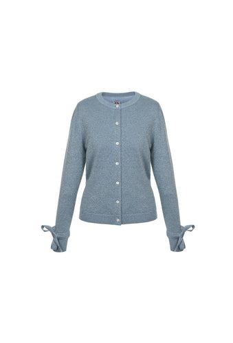 Lorna Cardigan - Blue, shrimps