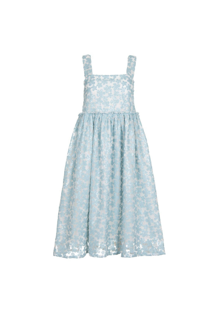 Lucia dress - Blue, shrimps