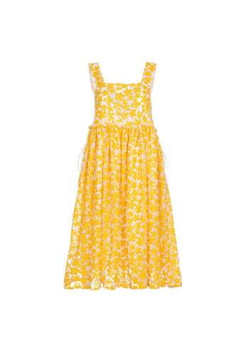 Lucia dress - Yellow, shrimps
