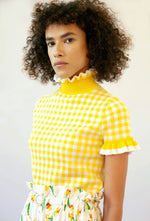 Mary jumper - Yellow, shrimps