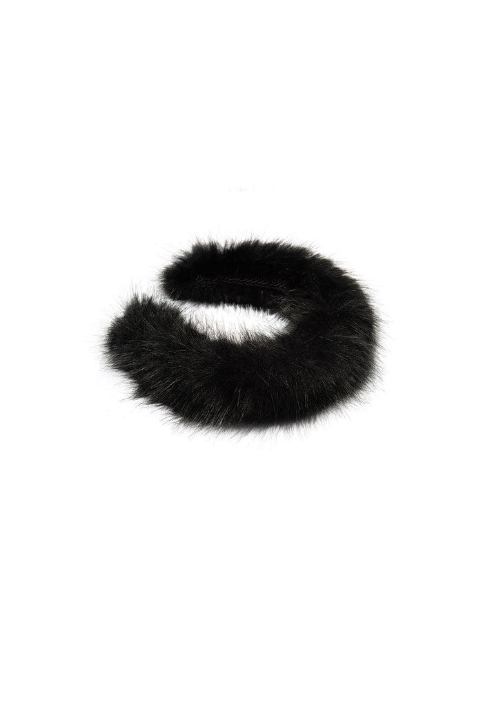 Melete Headband - Black, shrimps