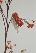 Penelope Barrette - Red and Silver