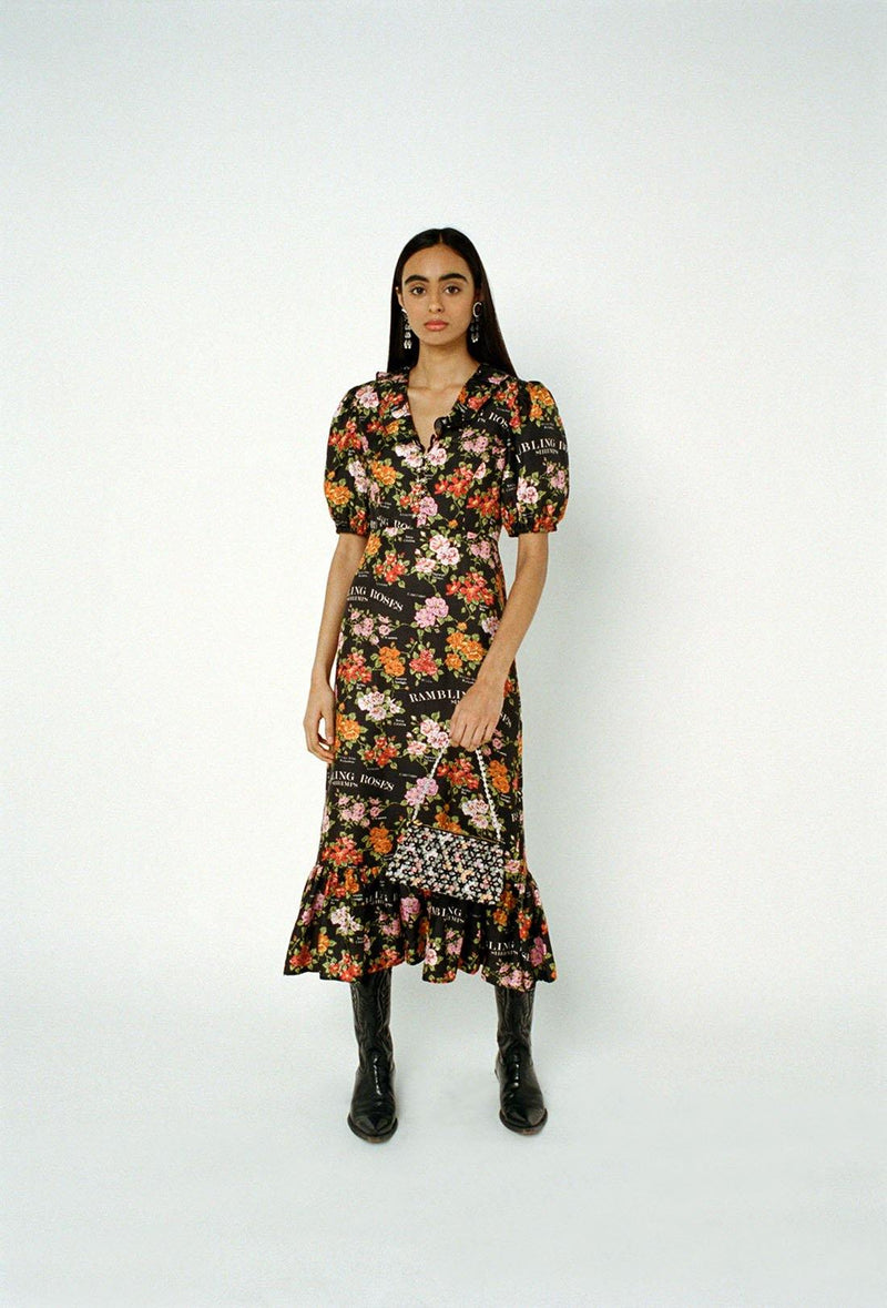 Rambling Roses Oakley Dress