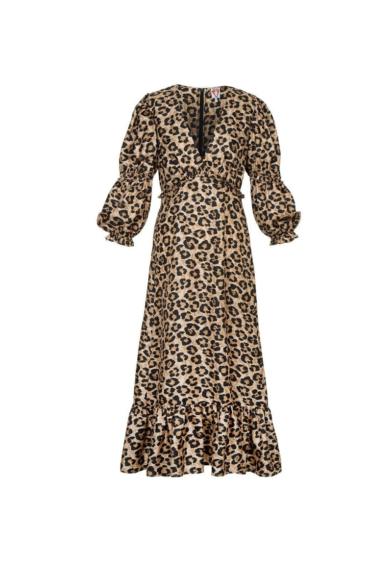 Rosemary dress - Leopard