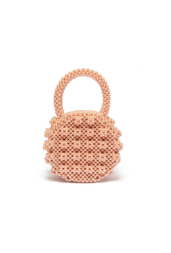 Selena bag - Apricot, shrimps