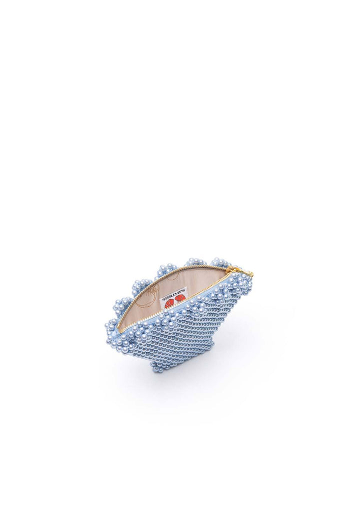 Shell Purse - Blue