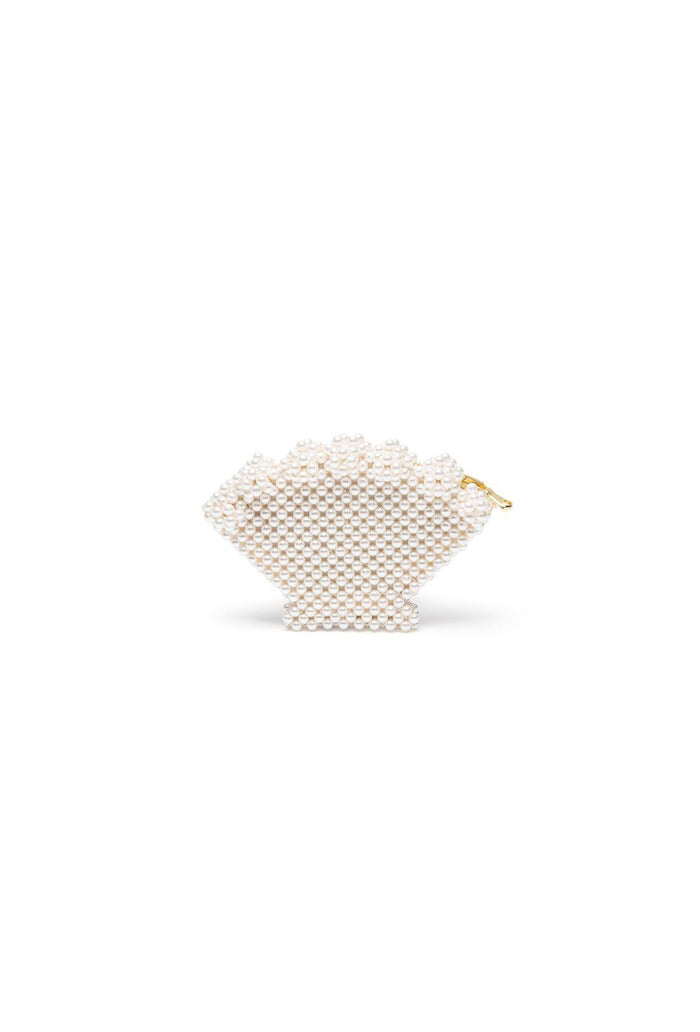 Shell purse - Cream, shrimps