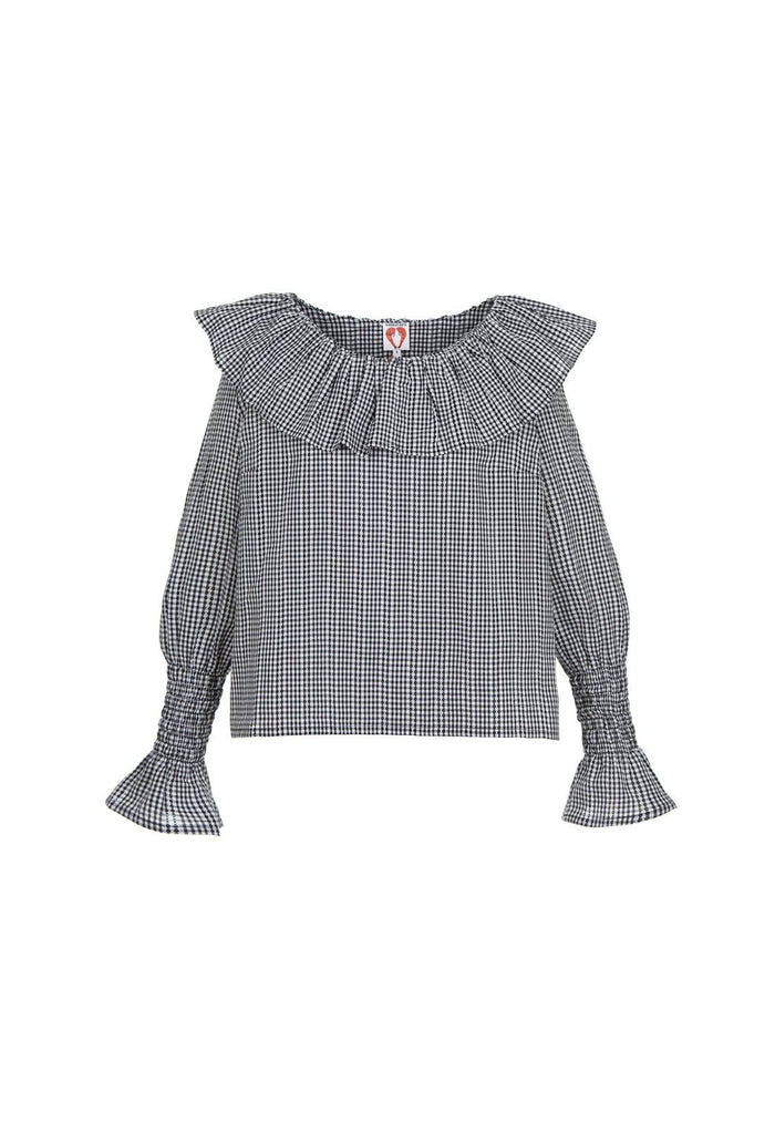 Sirius blouse, shrimps