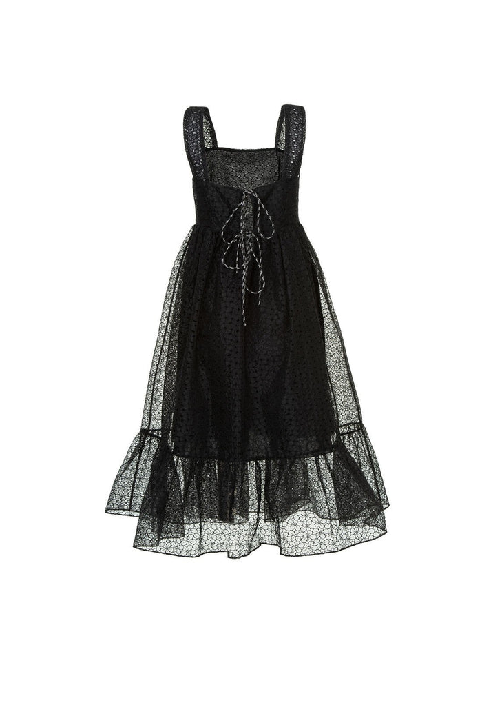 Sylvia dress - Black, shrimps