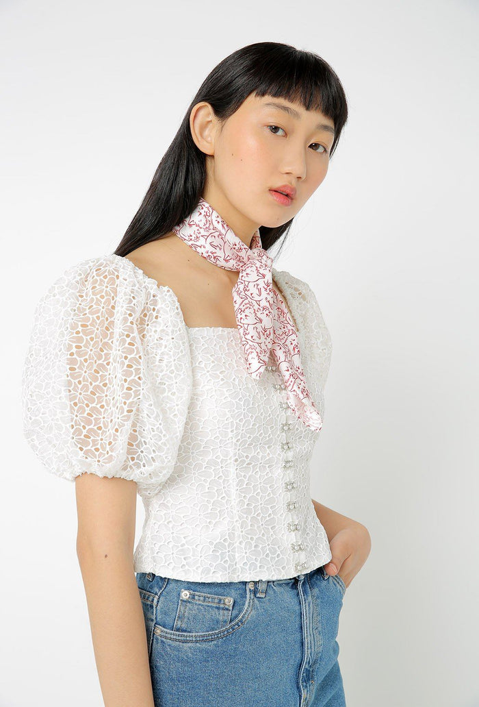 Tex Top - White