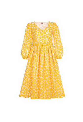 Titania dress - Yellow, shrimps