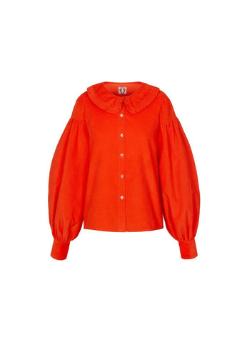 Vashti Blouse - Orange, shrimps