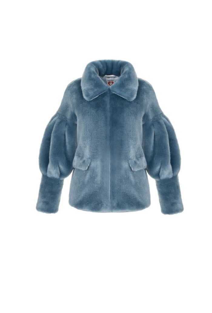 Zio Jacket - Denim, shrimps