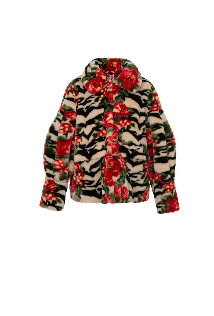 Zio Jacket - Tiger Rose, shrimps