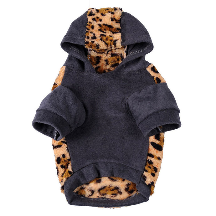 Leopard Camouflage Hoodie - Snout & Paws