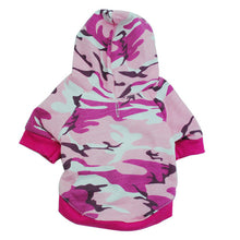 Load image into Gallery viewer, Camouflage Hoodie - Snout & Paws