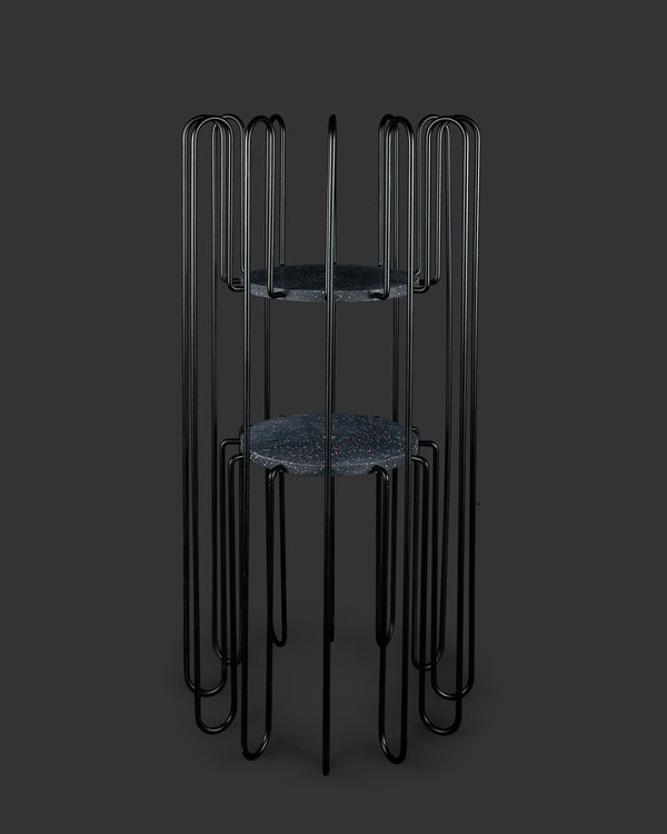 Rad Plant Stand Large Black-Mixed