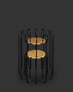 Rad Plant Stand Small Black-Aztec