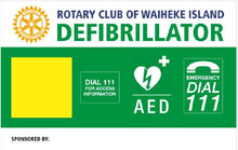 Load image into Gallery viewer, Defib Cabinet Signboard