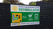 Load image into Gallery viewer, Outdoor Defibrillator Cabinet With Combination Lock