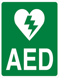 Defibrillator Sticker