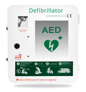 Break Glass Outdoor Defibrillator Cabinet