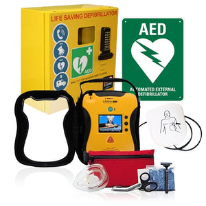 Rural/Tourism Defibrillator & Cabinet Package