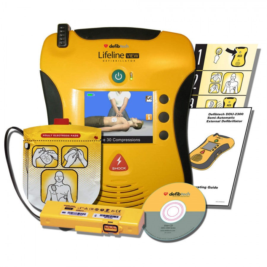 Defibtech Lifeline VIEW AED Semi-Automatic