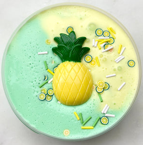 Pineapple Bubble Tea Slime